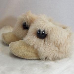 Fuzzy Duck Slippers
